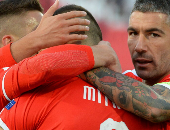 Стоят 349 млн евро, получали 0:5 от Украины. С кем сыграет в первом туре Лиги наций сборная России