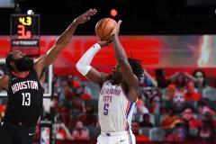 Харден закрыл первый раунд плей-офф НБА трехочковым… блок-шотом