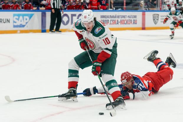 Нападающий «Ак Барса» Воронков признан лучшим игроком стартового дня сезона в КХЛ