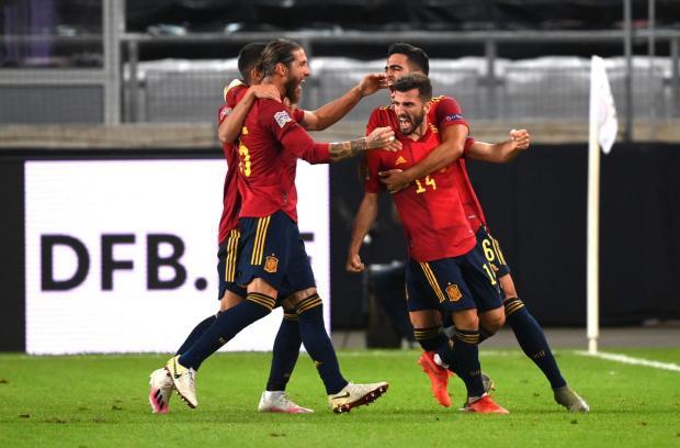 Германия упустила победу над Испанией в матче Лиги наций (видео)