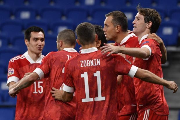 Дубль Дзюбы принес России победу над Сербией в Лиге наций (видео)