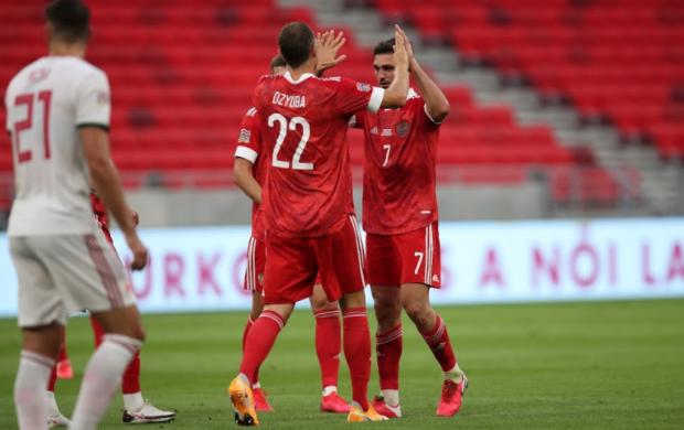 Отскочили в Будапеште. Сборная России едва не упустила преимущество в три гола над венграми (видео)