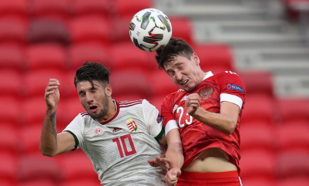 Кузяеву – пятерка за три гола, а кому-то – двойка. Оценки игроков сборной России в матче с Венгрией