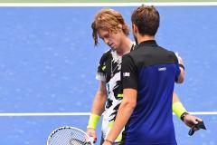 А это мог быть матч за титул! Медведев обыграл Рублева и вышел в полуфинал US Open