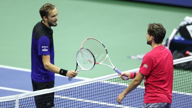 Титула пока не будет. Медведев проиграл Тиму в полуфинале US Open