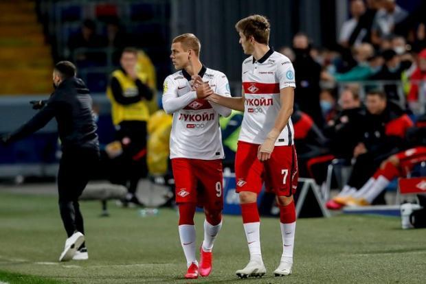 ЦСКА одержал волевую победу над «Спартаком» в матче, в котором за красно-белых дебютировал Кокорин