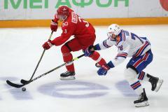 Аскаров-шоу на глазах Джино и Кови. Вратарь СКА помог обыграть «Спартак»