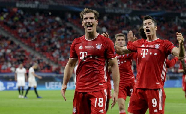 «Бавария» одержала волевую победу над «Севильей» и завоевала Суперкубок УЕФА