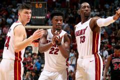 «Хит» дали жару. «Майами» вышел в финал НБА впервые после ухода Леброна