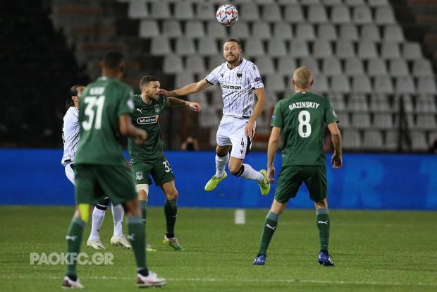 «Краснодар» впервые в истории вышел в групповой этап Лиги чемпионов, во второй раз обыграв ПАОК