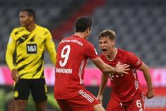 «Бавария» выиграла Суперкубок Германии, победив дортмундскую «Боруссию»