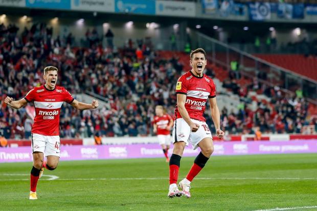 Гол Понсе спас «Спартак» от поражения в домашнем матче против «Зенита»