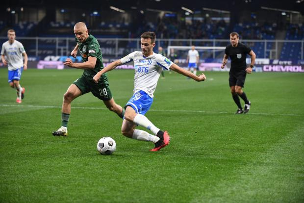 «Динамо» дома одержало победу над «Краснодаром»