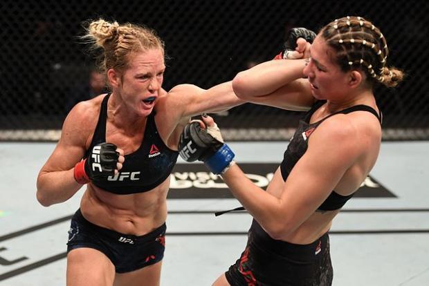 Холм решением судей победила Алдану в главном поединке UFC Fight Night