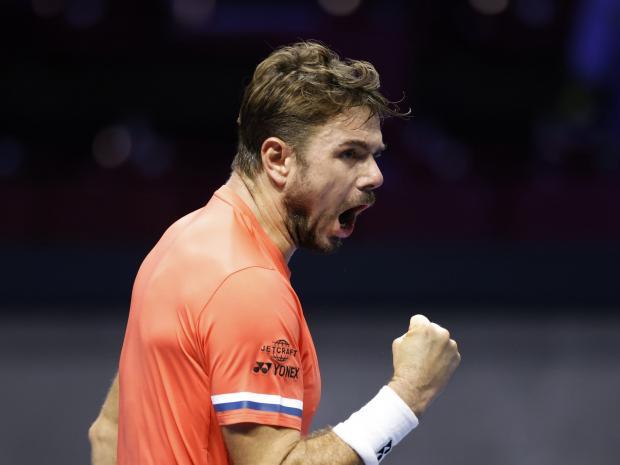 Вавринка обыграл Эванса на турнире ATP в Санкт-Петербурге и сыграет в 1/8 финала с Донским