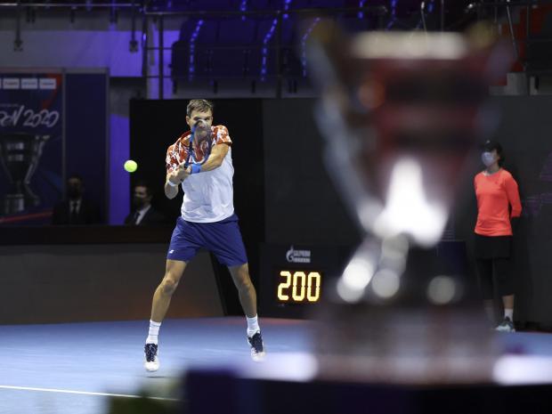 Донской обыграл Герасимова и вышел во второй круг турнира ATP в Санкт-Петербурге
