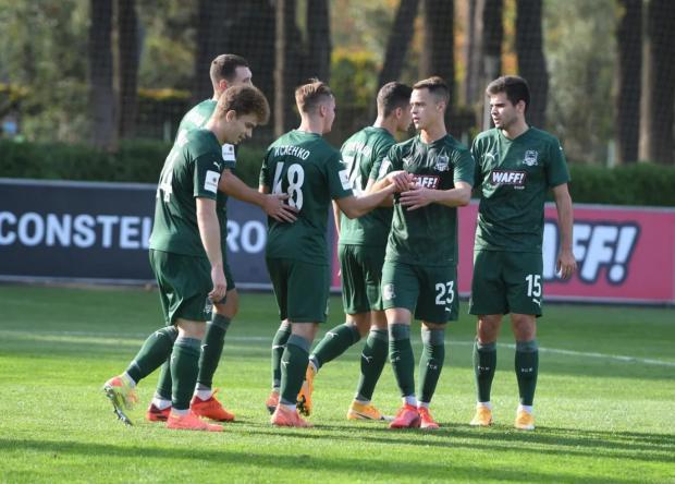 «Краснодар-2» измотал «Томь» атаками и победил 2:0