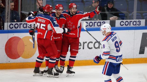 ЦСКА одержал победу над СКА благодаря дублю Окулова