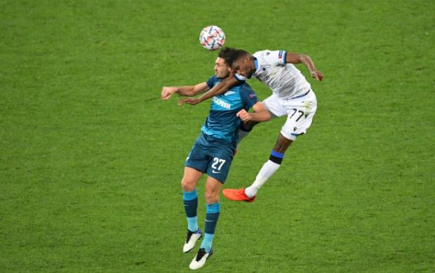 На дно после «Брюгге». «Зенит» начал Лигу чемпионов с домашнего поражения от бельгийцев (видео)