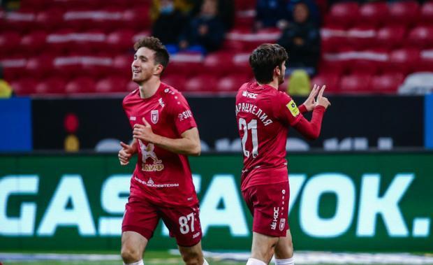 «Рубин» обыграл «Арсенал» благодаря голу и передаче Бакаева