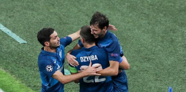 Россия упустила первую победу в Лиге чемпионов, «Зенит» поделил очки с «Лацио» (видео)