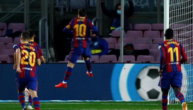 Гризманн запорол четвертый пенальти подряд, Месси забил с игры впервые за три месяца (видео)