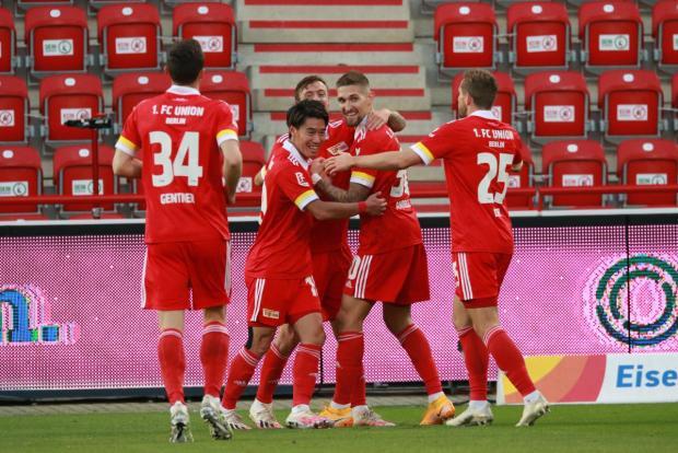 «Унион Берлин» с крупным счетом обыграл «Арминию» и поднялся на четвертое место в бундеслиге