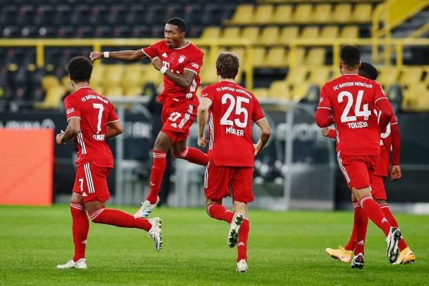 «Бавария» обыграла в Дортмунде «Боруссию» и стала лидером бундеслиги (видео)