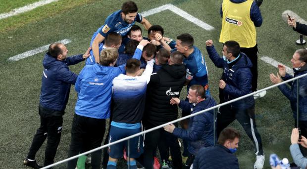 В футбол играют не руками! Правая нога Дзюбы принесла «Зениту» победу над «Краснодаром» (видео)