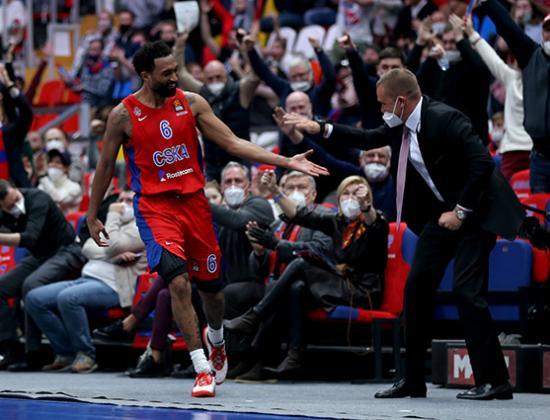 Третья пошла! ЦСКА одержал третью победу в Евролиге подряд