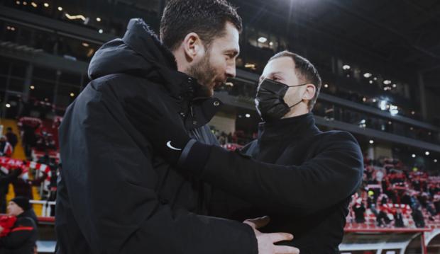 Тедеско допустил операцию у Соболева, Шварц похвалил Варелу. Тренеры – о дерби «Спартак» – «Динамо»
