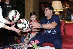 Марадона хотел работать со сборной России. Интервью легенды «Советскому спорту» (видео)
