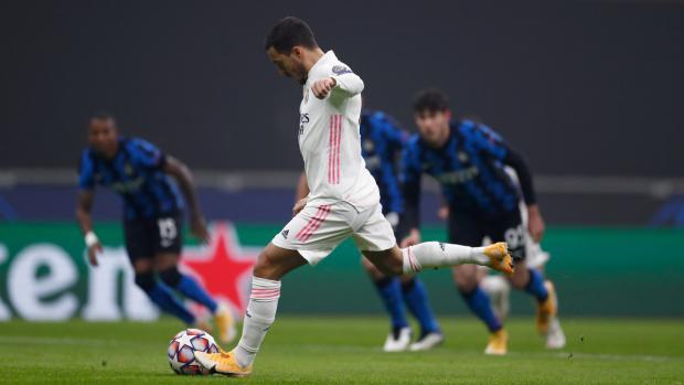 «Интер» на своем поле проиграл «Реалу»