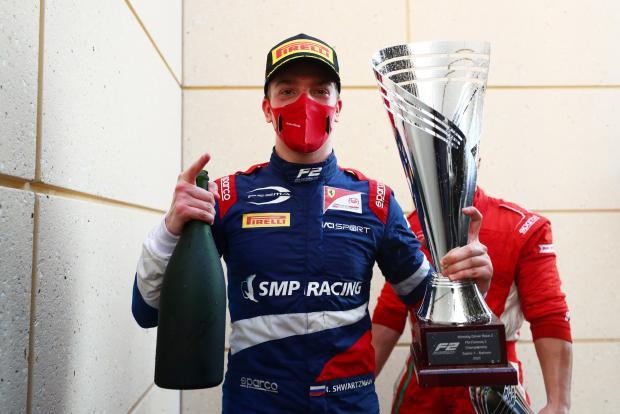 Шварцман выиграл вторую гонку этапа «Формулы-2» в Бахрейне, Мазепин – второй