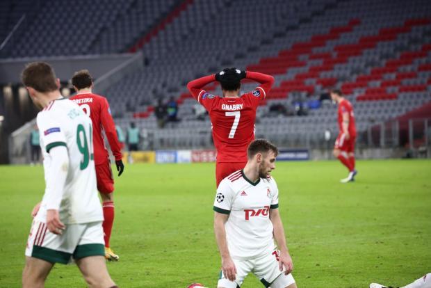 «Локомотив» в Мюнхене проиграл «Баварии» и вылетел из еврокубков