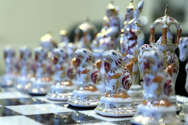 Коллекция Музея шахмат ФШР пополнилась Индийскими шахматами