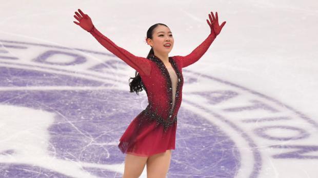 Кихира не дремлет. На чемпионате Японии она чисто прыгнула четверной