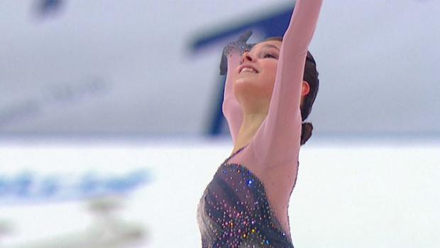 ТВ-рейтинги: Щербакова разгромила футбол, хоккей и биатлон, но проиграла Загитовой