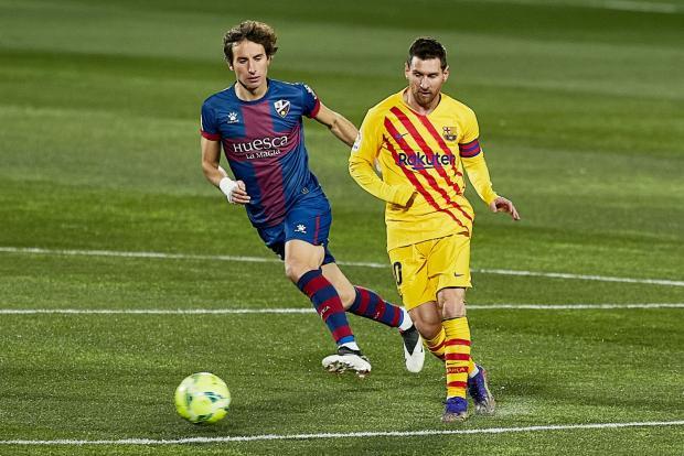 «Барселона» обыграла «Уэску» в 750-м матче Месси за каталонцев