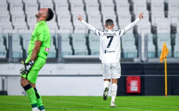 «Ювентус» обыграл «Удинезе» благодаря дублю Роналду
