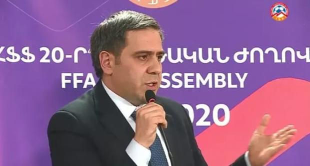 20-е заседание Федерации футбола Армении․ Хроника неудавшегося переворота