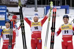 Пятеро на одного. Норвежцы завалили Большунова в скиатлоне