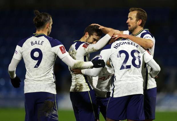 «Тоттенхэм» одержал волевую победу над «Уикомбом» в Кубке Англии