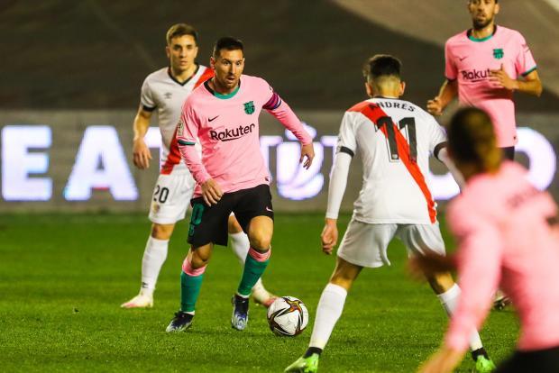 Гол Месси помог «Барселоне» выйти в четвертьфинал Кубка Испании