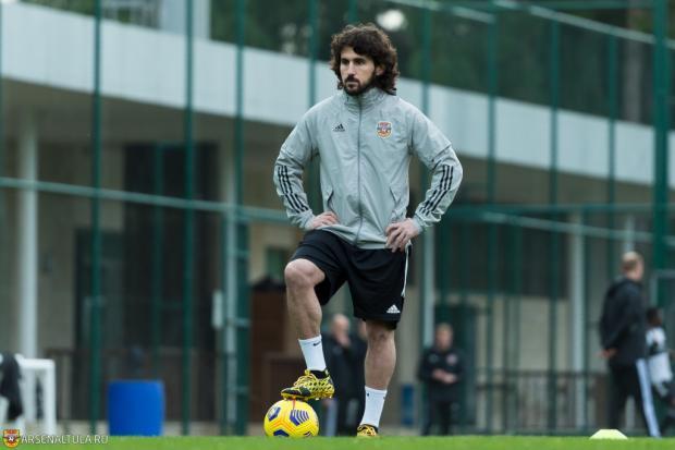 Хагуш завершил карьеру игрока и вошел в тренерский штаб тульского «Арсенала»