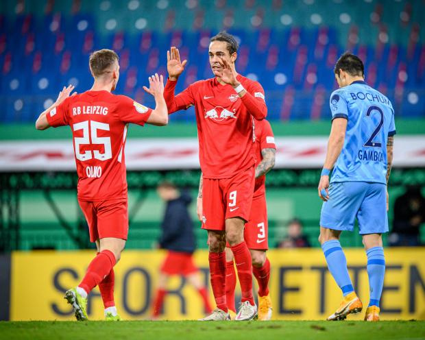 «Лейпциг» разгромил «Бохум» и вышел в следующий раунд Кубка Германии