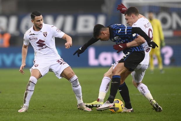 «Аталанта» упустила победу над «Торино», выигрывая 3:0 по ходу матча. Миранчук вышел на замену