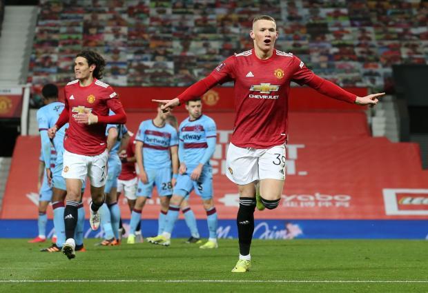 «Манчестер Юнайтед» в дополнительное время обыграл «Вест Хэм» в Кубке Англии