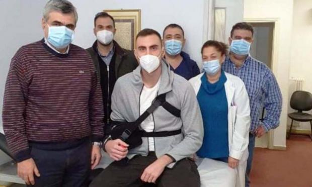 Милутинов перенес операцию на плече. Центровой ЦСКА полностью восстановится лишь летом