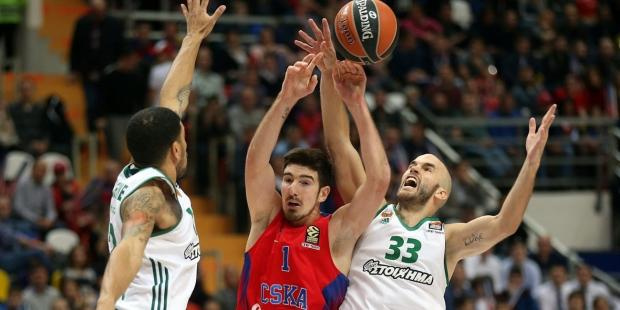 Евролига перенесла матчи «Панатинаикоса» против «Зенита» и ЦСКА